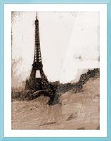Paris Icon in Sephia Picture Frame print
