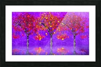 When autumn leaves start to fall Picture Frame print