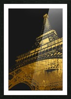 Eiffel tower Picture Frame print