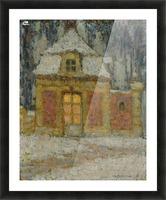 Snow, Versailles Picture Frame print