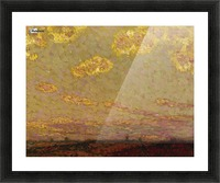 Sunset at Gerberoy Picture Frame print