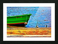 Blue Waters Picture Frame print