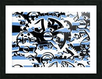 Gears Picture Frame print