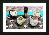 Japanese Vase Display Picture Frame print