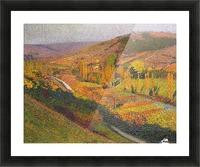 Labastide-du-Vert, Valley of Lot Picture Frame print