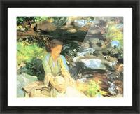 The black creek by John Singer Sargent Picture Frame print
