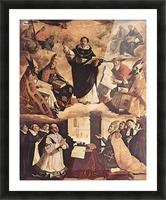Saint Thomas Aquinas Picture Frame print