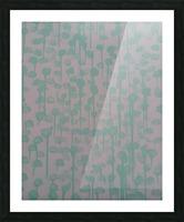 Blue petals Picture Frame print
