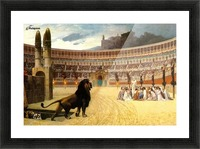 The Christian Martyrs Last Prayer Picture Frame print