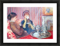 A cup of tea 2 by Cassatt Picture Frame print