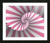 Swiggy Spiral Picture Frame print