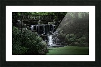 Prospect park waterfall no frame Picture Frame print