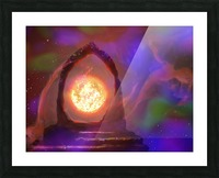 The Oracle  Picture Frame print