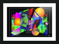 1-Intersections Picture Frame print