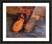 A Pair of Shoes4 by Van Gogh Picture Frame print