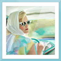 Taking a Drive Picture Frame print