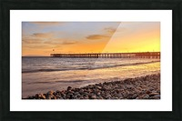hot in california Picture Frame print