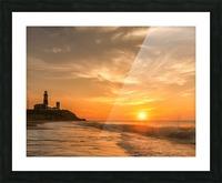 Montauk Beach Picture Frame print