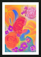floral Picture Frame print