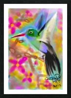 bird & tree.v2 Picture Frame print