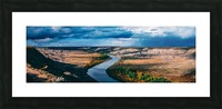 Orkney Fall 2018 Panorama 3x1 Picture Frame print