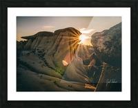 DPP Hoodoo Sunburst Picture Frame print