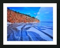 Frozen Shovel Point Picture Frame print