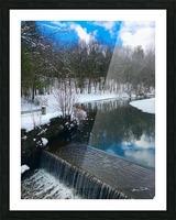 SimsburyFalls Picture Frame print