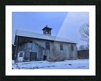 Avon Barn Picture Frame print