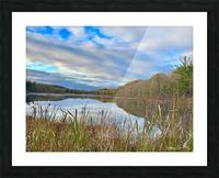 Granville Pond Picture Frame print
