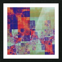 Abstract Composition 217 Picture Frame print