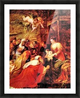 Adoration of the Magi by Rubens Picture Frame print