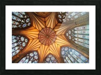 Religious Ceiling Picture Frame print