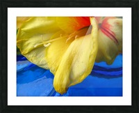Meditation Inside Picture Frame print
