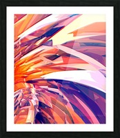 Abstract Composition 695 Picture Frame print