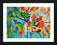 Floral 2 Picture Frame print