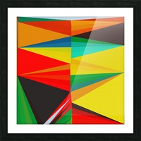 Abstract Composition 652 Picture Frame print