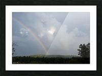 Rainbow Ridge Picture Frame print