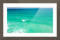 Clear Surf  Picture Frame print