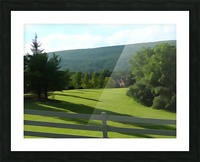 House on the Hill Picture Frame print