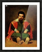 Don Sebastian de Morra Picture Frame print