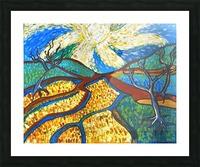 Jana A. Trees in the Sun Impression et Cadre photo
