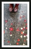 Autumn Rain Picture Frame print