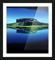 Distant Plateau Picture Frame print