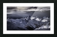 Mountain moods Whistler BC Back-country  Picture Frame print