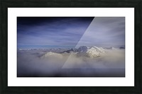Alpine inversion Kootenay Back country  Picture Frame print