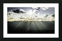 Selkirk Mountain ridge Line Kaslo BC Picture Frame print
