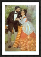 Alfred Sisley by Renoir Picture Frame print