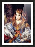 Algerian Woman by Renoir Picture Frame print