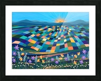 Bright Sun Shiny Day  Picture Frame print